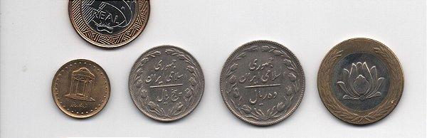 Série de moedas do Irã