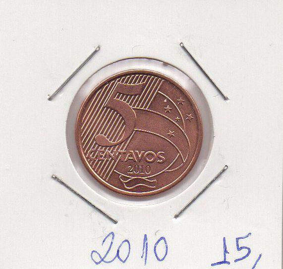 Moeda de 5 centavos de 2010
