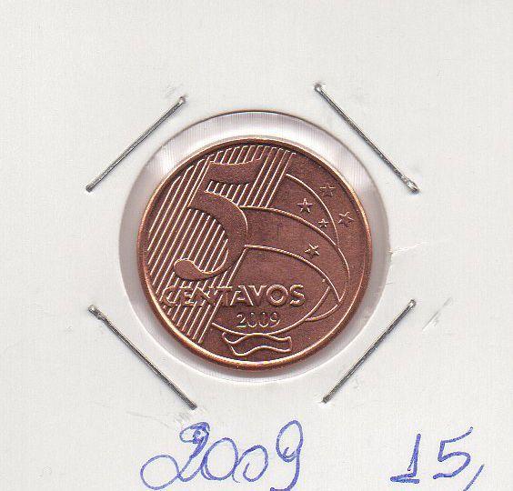 Moeda de 5 centavos de 2009