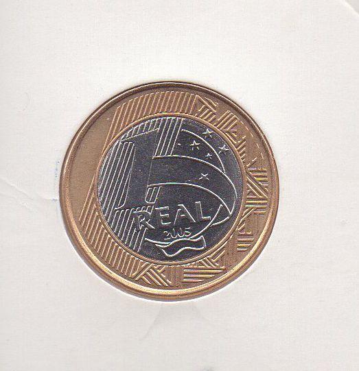 Moeda de 1 Real 40 Anos do Banco Central 2005