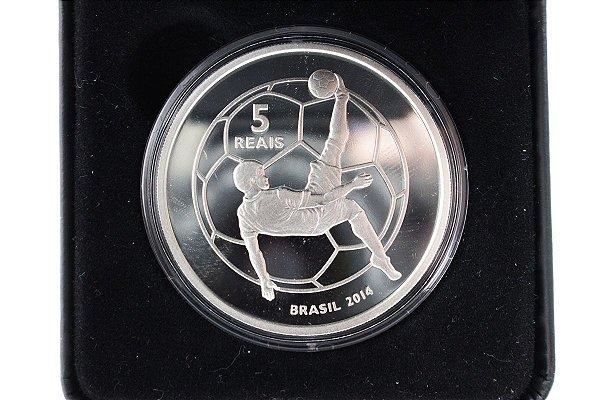 Moeda Comemorativa da Copa do Mundo - Brasil  2014 - Fuleco