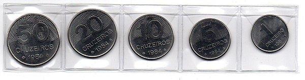 Série de Moedas de 1984 Cruzeiro FC