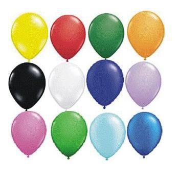 Balões de Látex varias cores