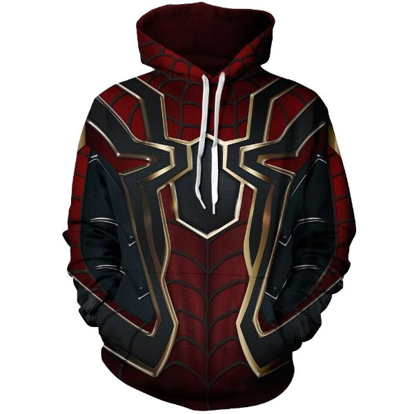 Blusa De Frio Homem Aranha Vingadores Heróis