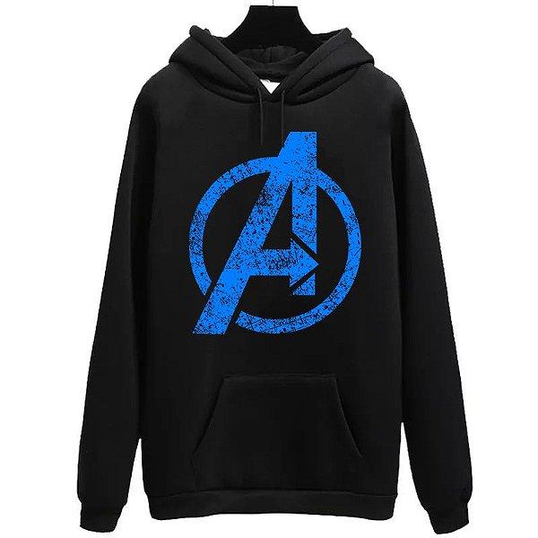 Blusa Moletom Canguru  Vingadores Avengers Filme Cinema