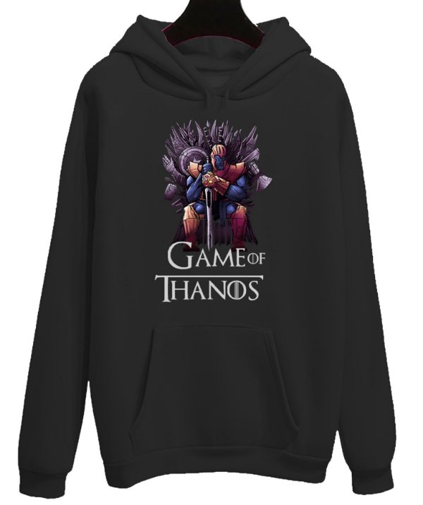 Moletom Blusa Canguru Vingadores Game Of Thanos