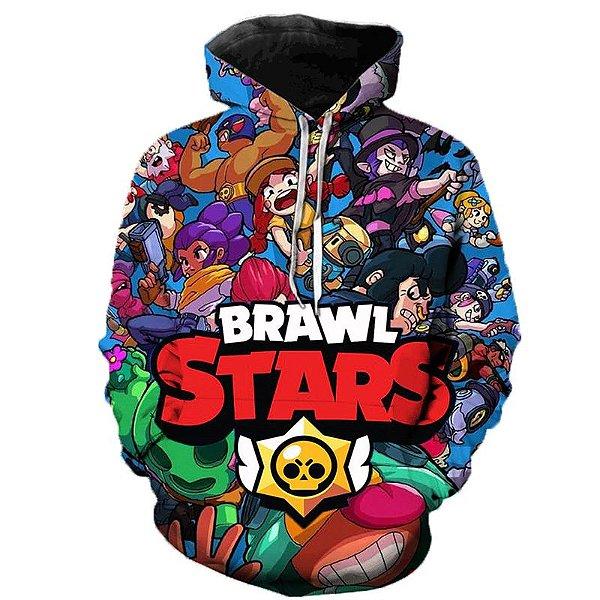 Blusa De Frio 3d Full Jogo Brawl Stars Mobile Game