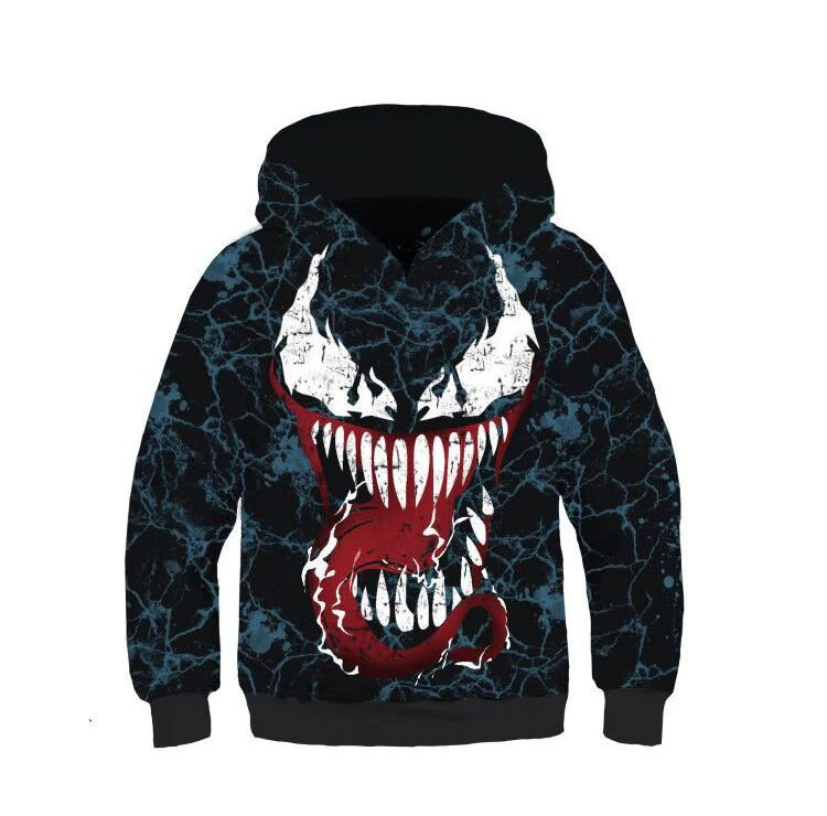 Blusa Moletom Infantil 3d Full Venom Filme Movie