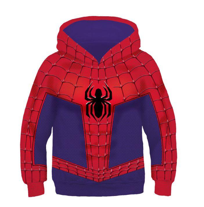 Blusa Moletom Infantil 3d Full Vingadores Avengers Spider Homem Aranha