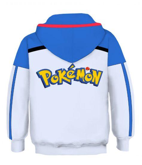 Blusa Moletom Infantil 3d Full Pokemon Jogo Filme Ash