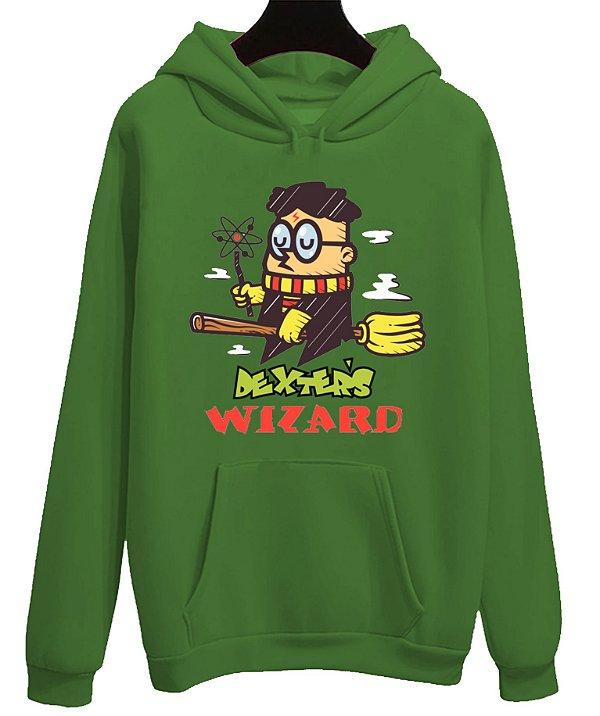 Blusa Moletom Canguru Dexter Bruxinha Harry Potter