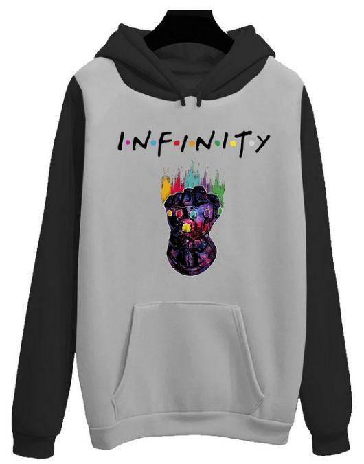 Blusa Moletom Canguru Vingadores Infinity