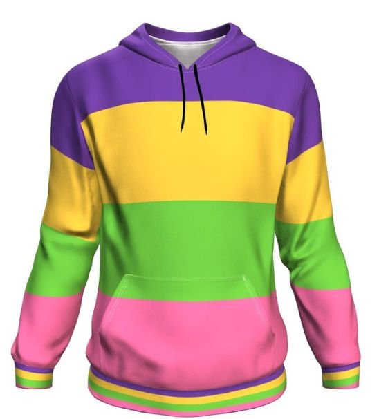 Blusa Moletom Canguru Full 3d Orgulho LGBT Bandeira Lesbica