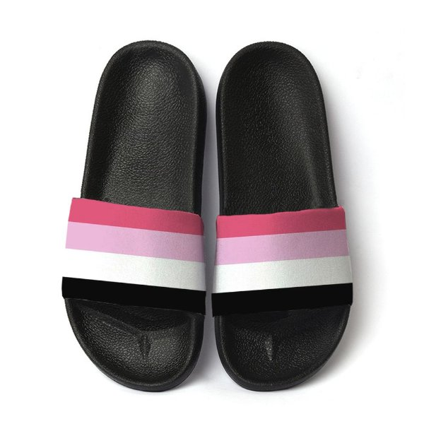 Chinelo Slide Lgbtq Orgulho Bandeira Reciprossexual