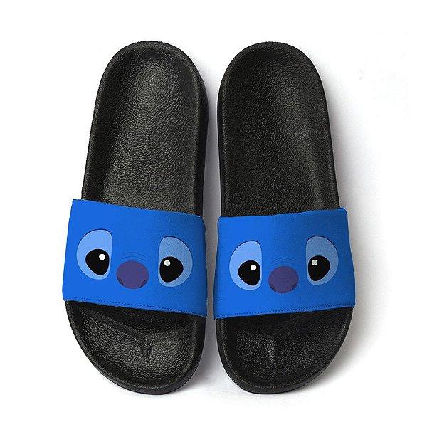 Chinelo Slide Stitch Fofo Blue