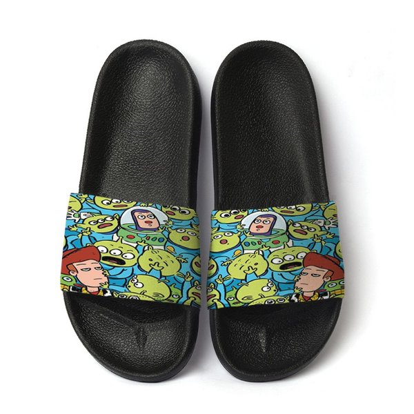 Chinelo Slide Toy Story Aliens Fofo