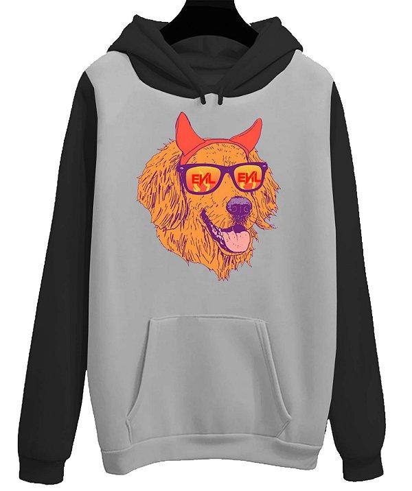 Blusa Moletom Canguru Evil Dog