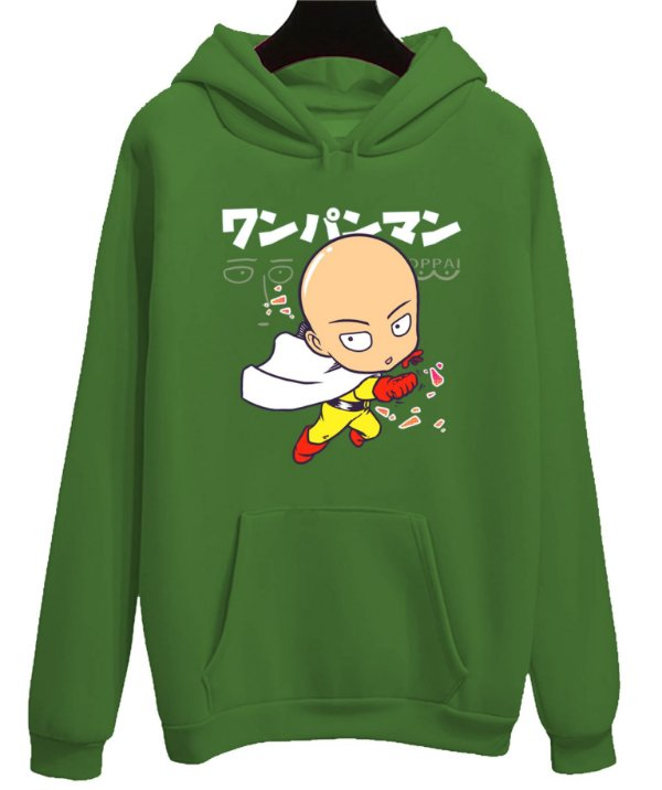 Blusa Moletom Canguru Anime One Punch Man