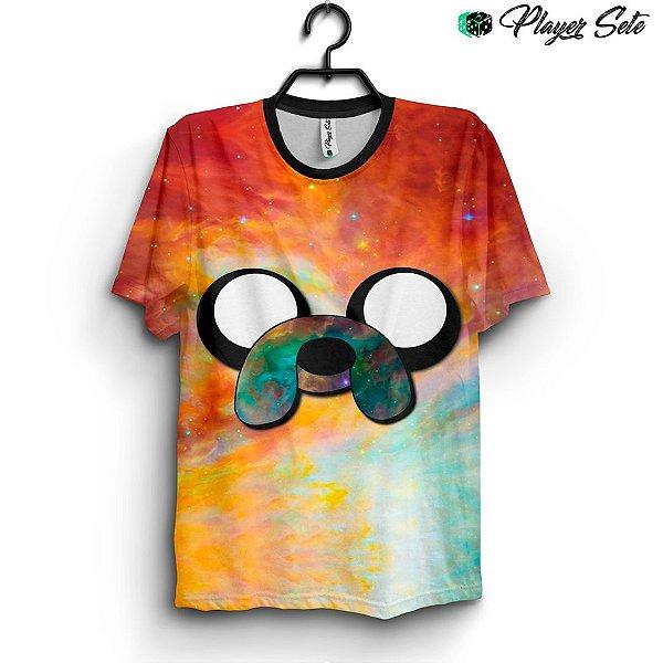 Camiseta 3d Full Jake Hora De Aventura
