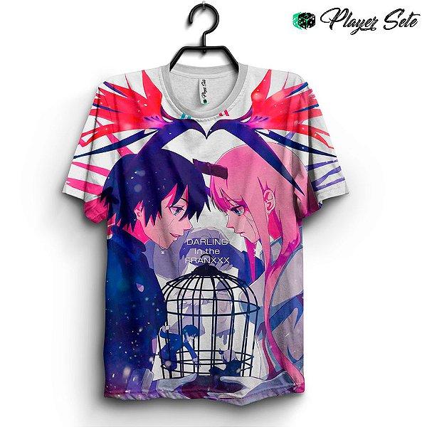 Camiseta 3d Full Anime Darling In The Franxx