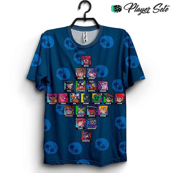 Camiseta 3d Full Jogo Brawl Stars
