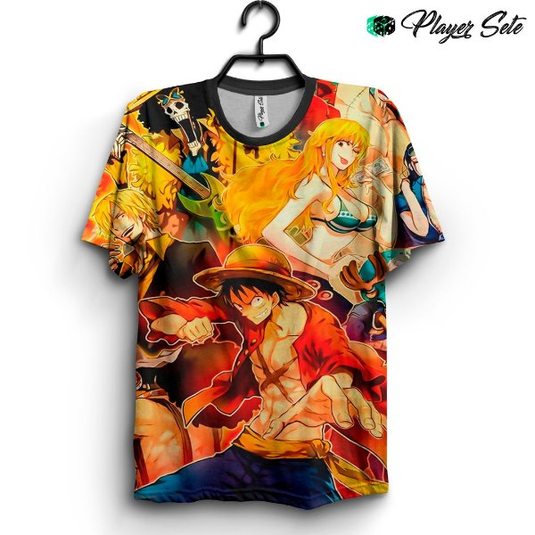Camiseta 3d Full Anime One Piece