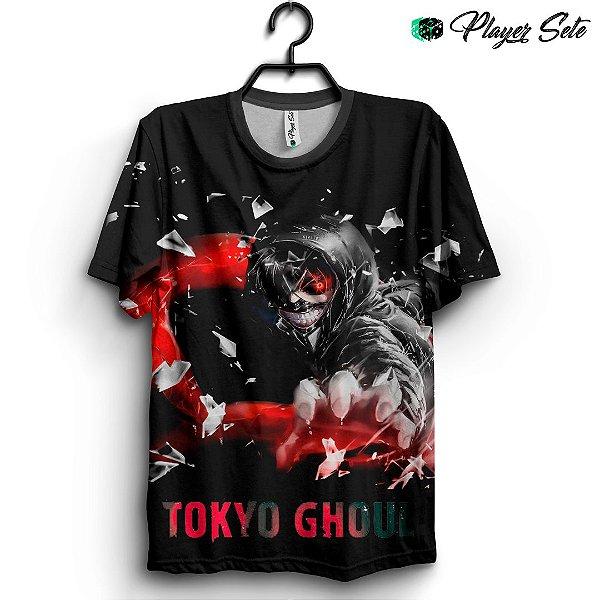 Camiseta 3d Full Anime Tokyo Ghoul Logo
