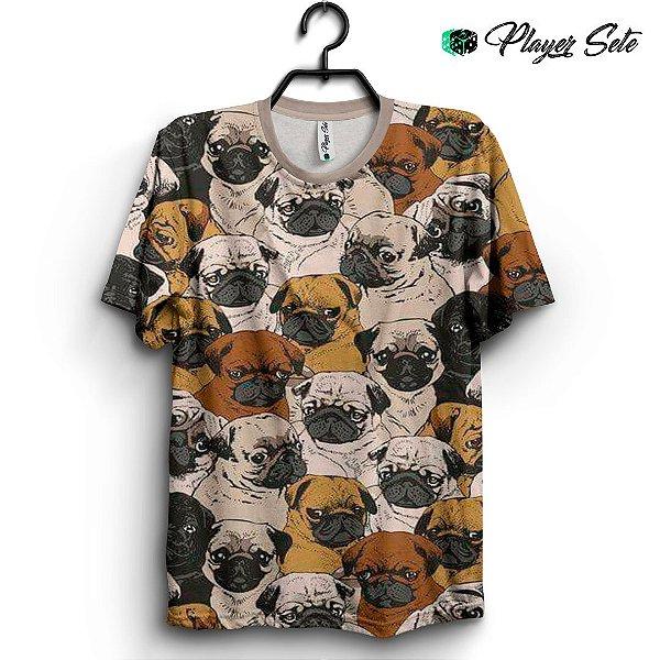 Camiseta 3d Full Dog