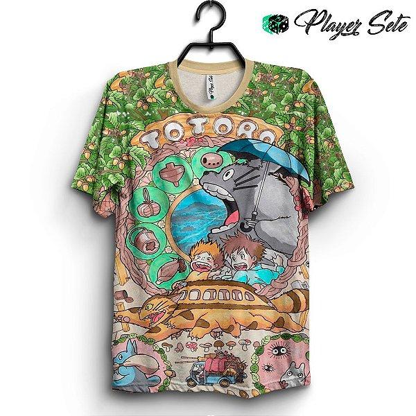Camiseta 3d Full Anime Meu Amigo Totoro