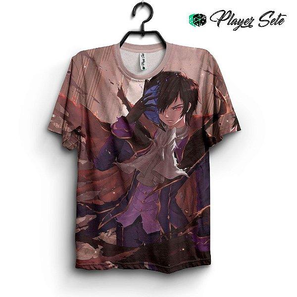 Camiseta 3d Full Anime Code Geass
