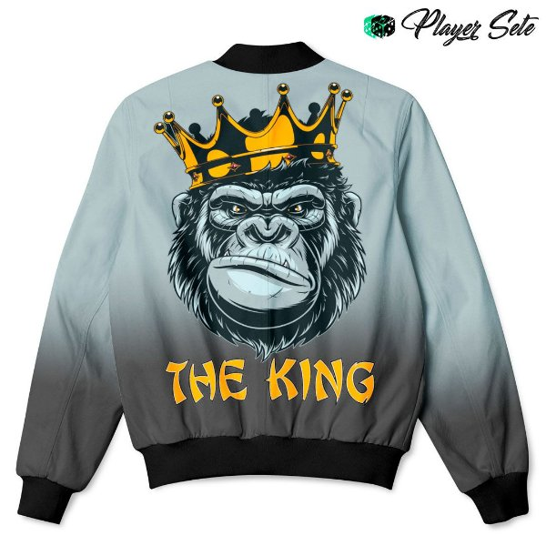 Jaqueta Bomber Com Bolsos Gorila King