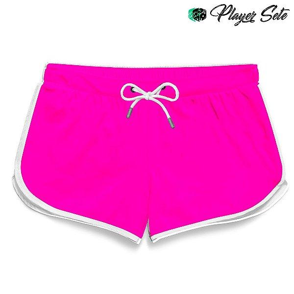 Short Feminino Liso Pink