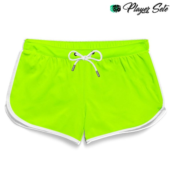 Short Feminino Liso Green