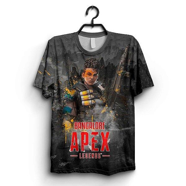 Camiseta 3D Full Jogo Apex Bangalore