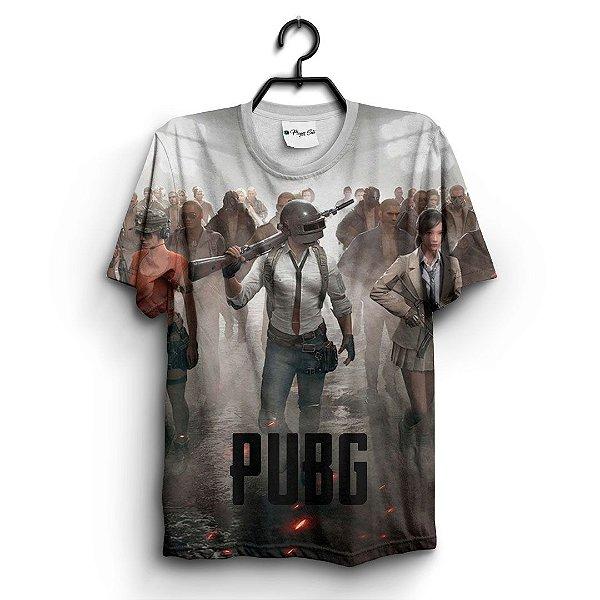 Camiseta 3D Full Jogo Online Pubg