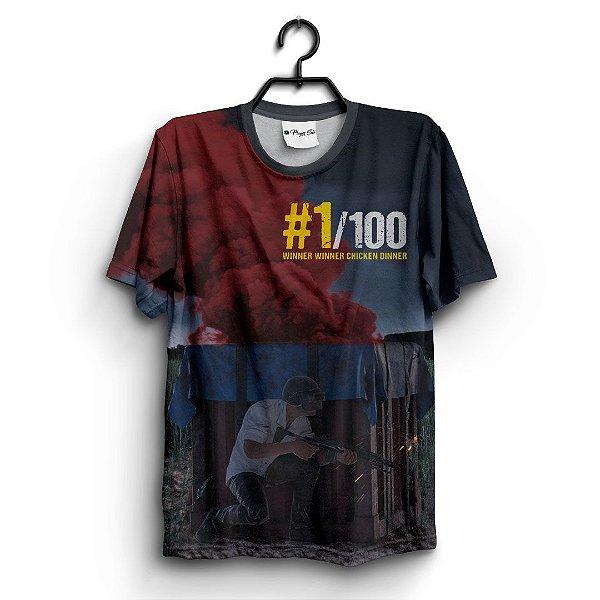 Camiseta 3D Full Jogo Online Pubg 1/100