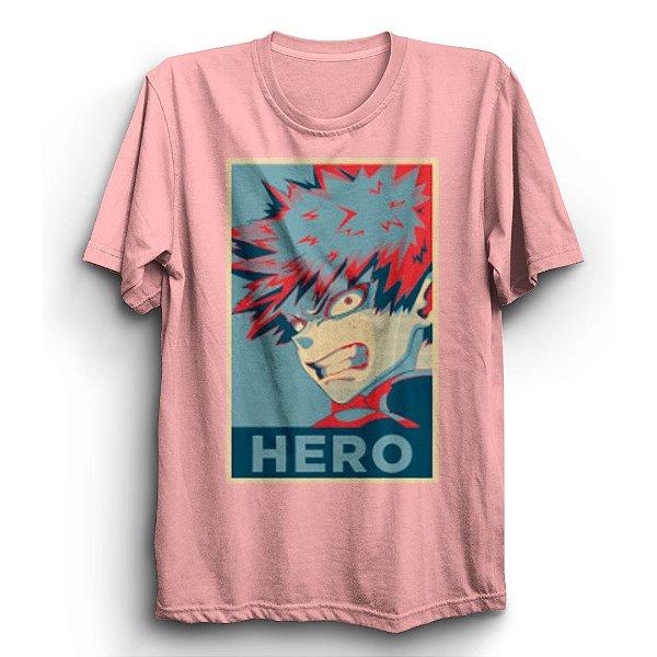 Camiseta Básica Anime Boku No Hero Deku
