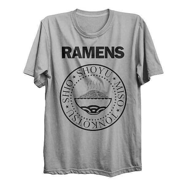 Camiseta Básica Ramens Shoyu Food