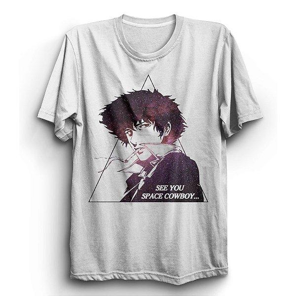 Camiseta Básica Anime Cowboy Bebop See You Space