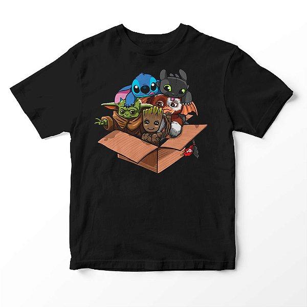 Camiseta Infantil Cute Box