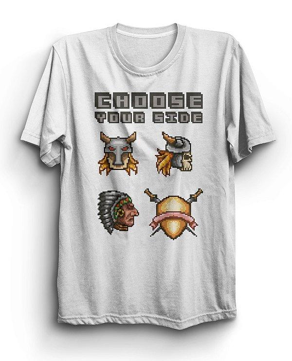 Camiseta Básica Choose Your Side