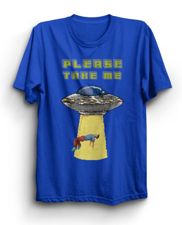 Camiseta Básica Please Take Me