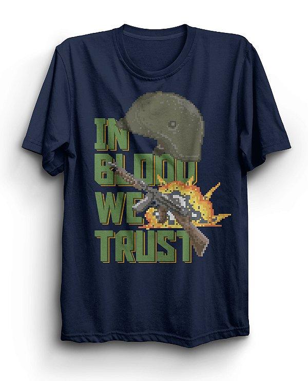 Camiseta Básica In Blood We Trust