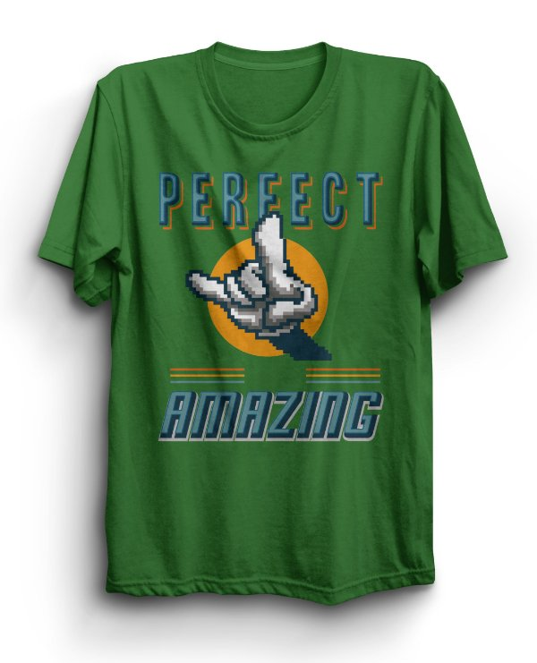 Camiseta Básica Perfect Amazing