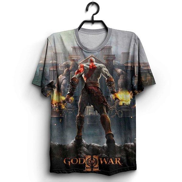Camiseta 3d Full Jogo God Of War