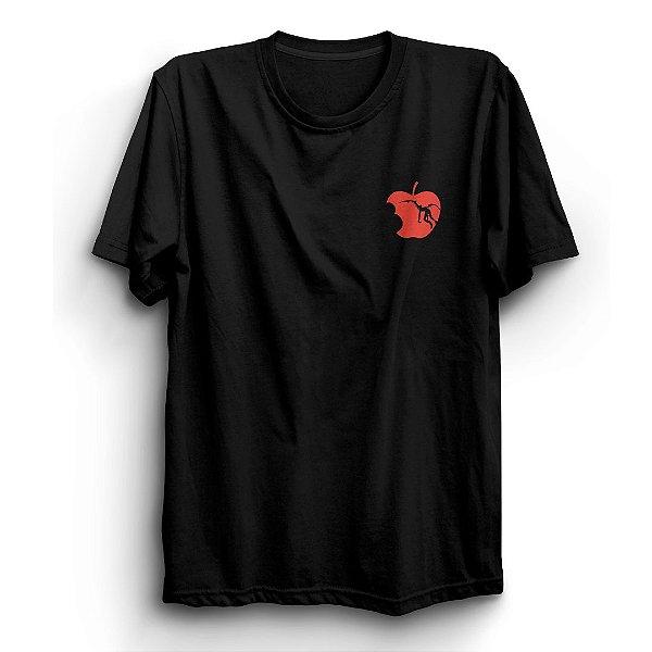 Camiseta Básica  Anime Death Note Love Apples