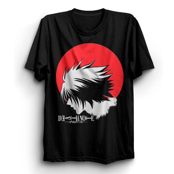 Camiseta Básica Anime Death Note L
