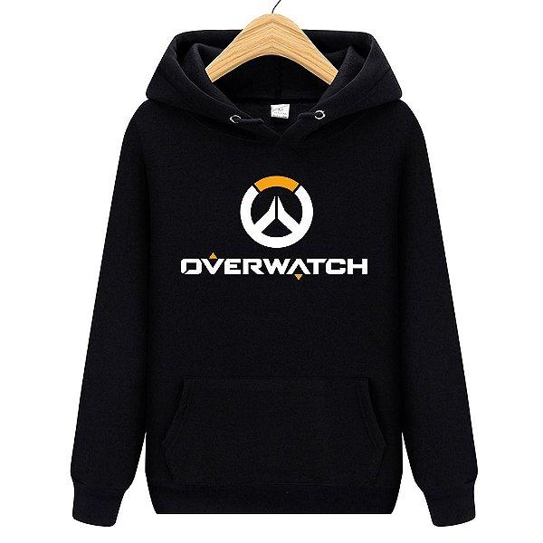 Blusa Moletom Canguru Jogo Overwatch Logo