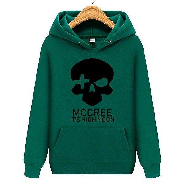 Blusa Moletom Canguru Jogo Overwatch Mc Cree