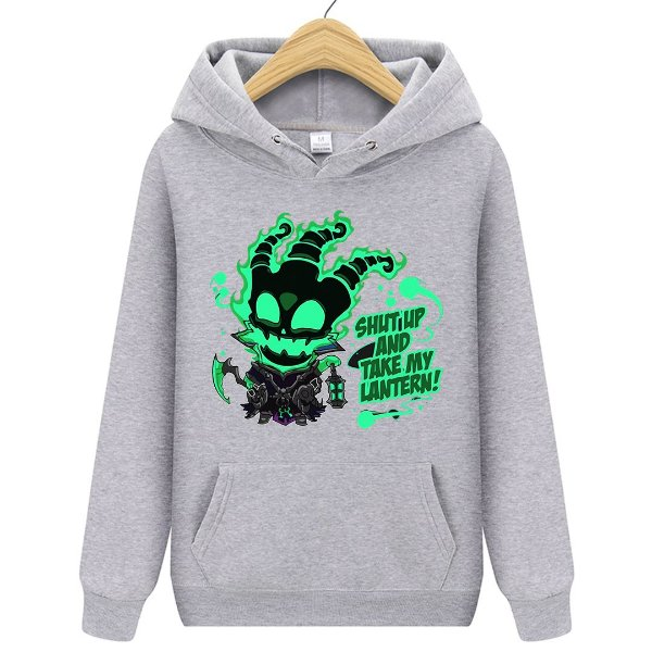 Blusa Moletom Canguru Jogo League Of Legends Thresh